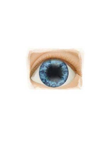 Ojos Acrilico tamaño 12 mm color BEAUTIFUL BLUE