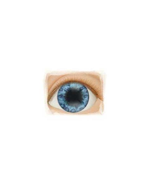 Ojos Acrilico tamaño 18 mm color BEAUTIFUL BLUE
