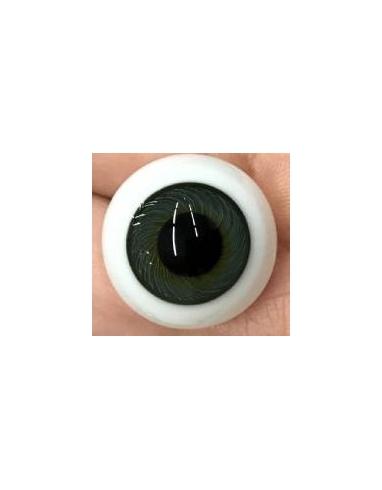 Ojos Cristal GLOBO GREEN GREEN tamaño 20mm