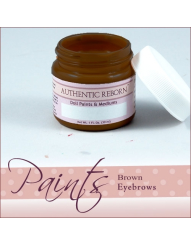AUTHENTIC REBORN BROWN EYEBROW PAINT 30ML